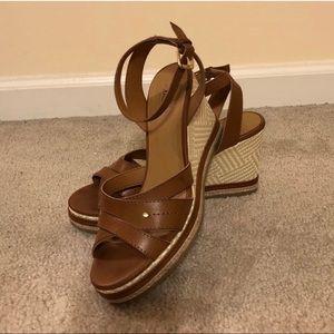 American Bass platform sandals